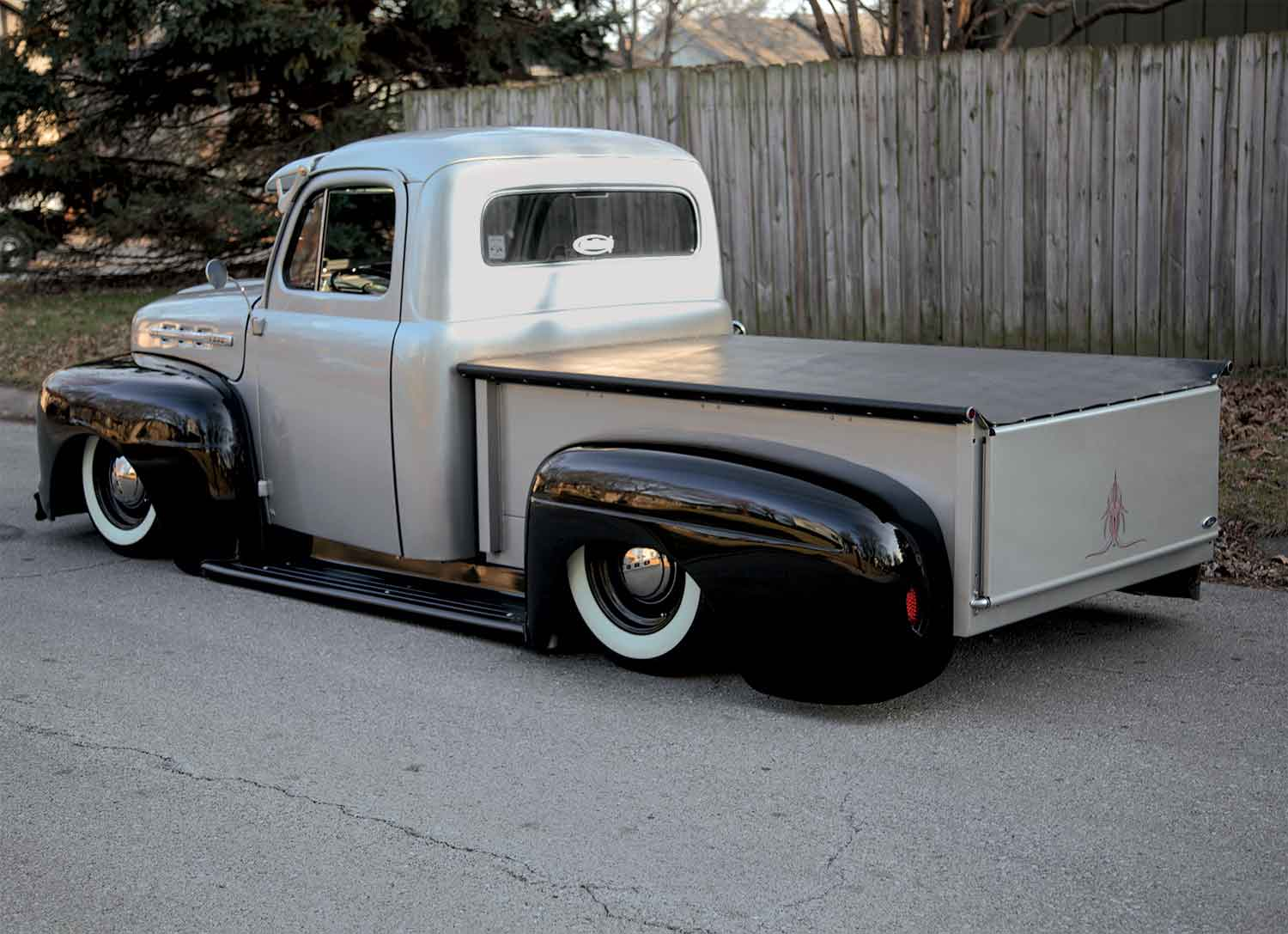 1951 Ford F 1 Matt Shotton Lmc Truck Life F100 Custom Form My Grandpa Father For 800 Slowly Been Restoring It Many Years 302h0 Engine With The C6 And A 9 Inch Rear Axle Air Ride Suspension