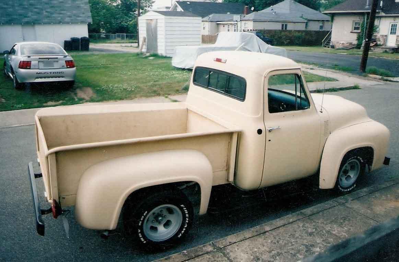 1955 Ford F-100 - Bobbie Pinard - LMC Truck Life