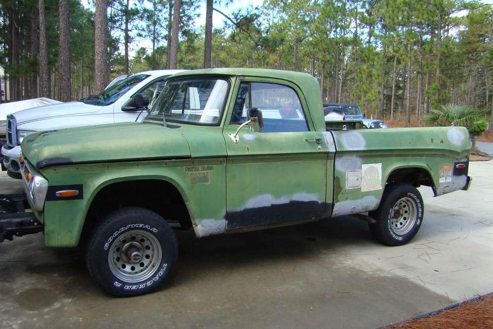 1971 Dodge Sweptline - Mark Polk - LMC Truck Life