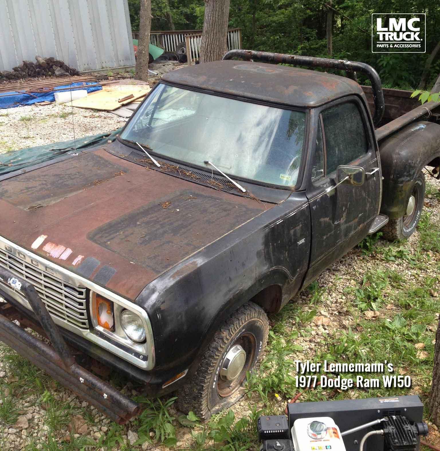 1977 Dodge W150 - Tyler Lennemann - LMC Truck Life
