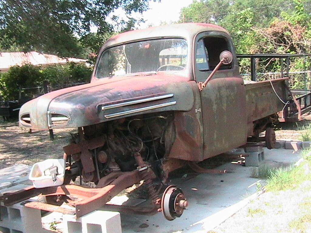1949 Ford F1 Fenders