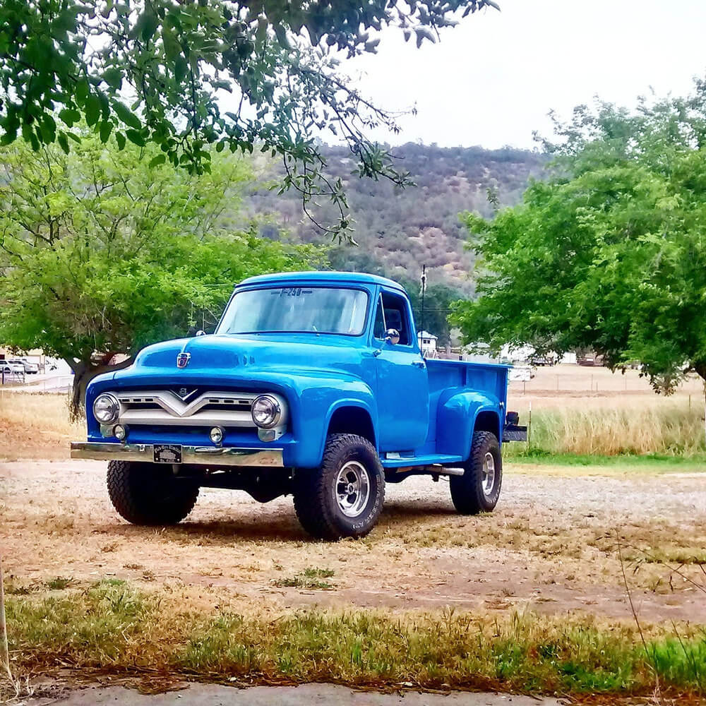 1955 Ford F250 - Martin Wright
