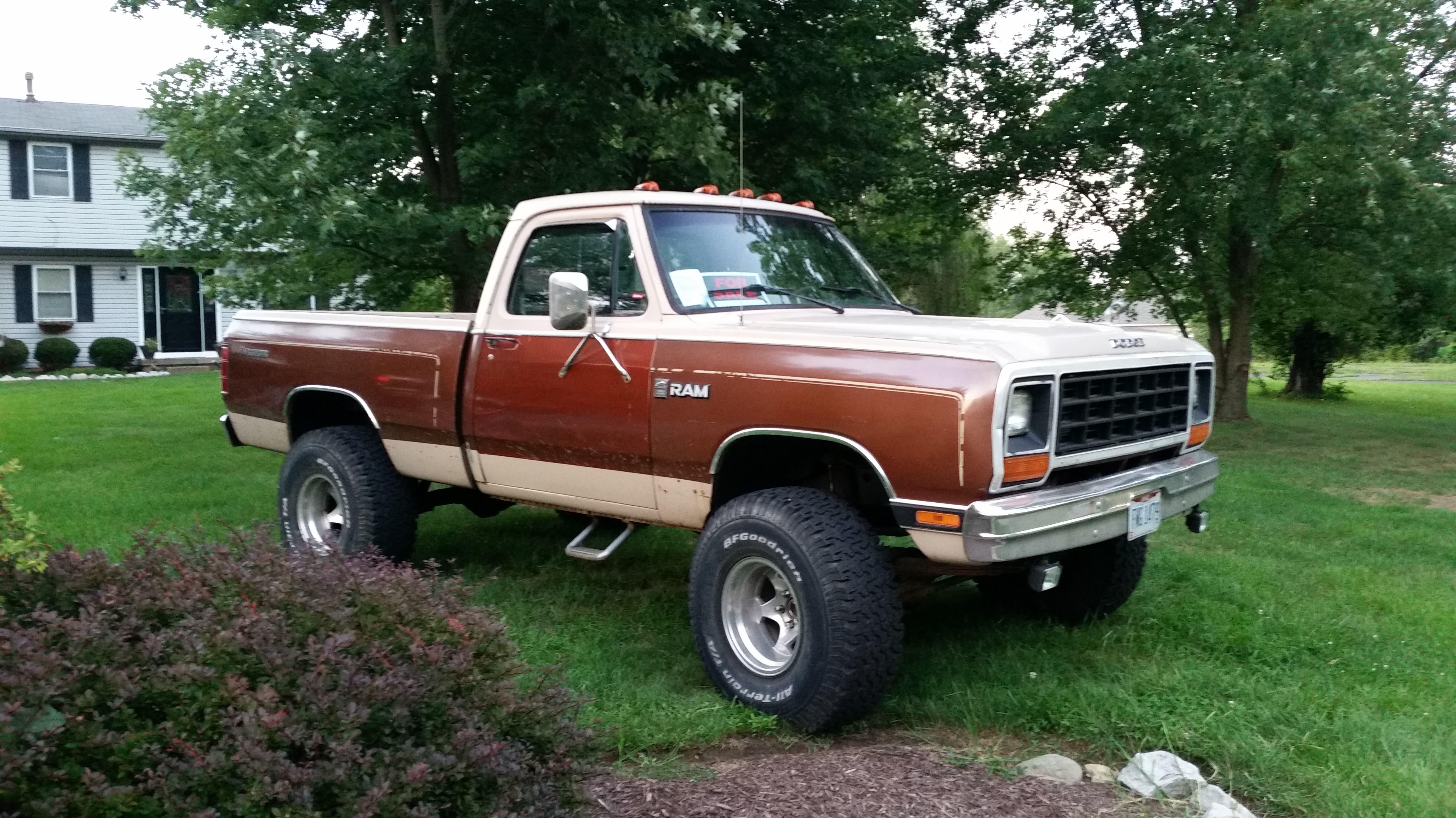 Min on 1984 Dodge 4 Door Truck
