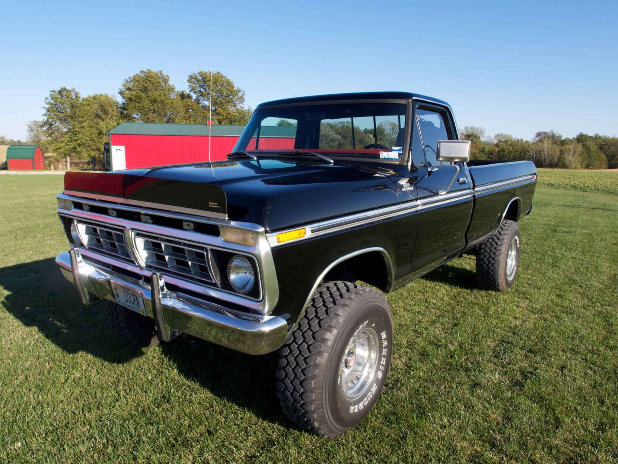 The blumhagens 1976 ford f 150