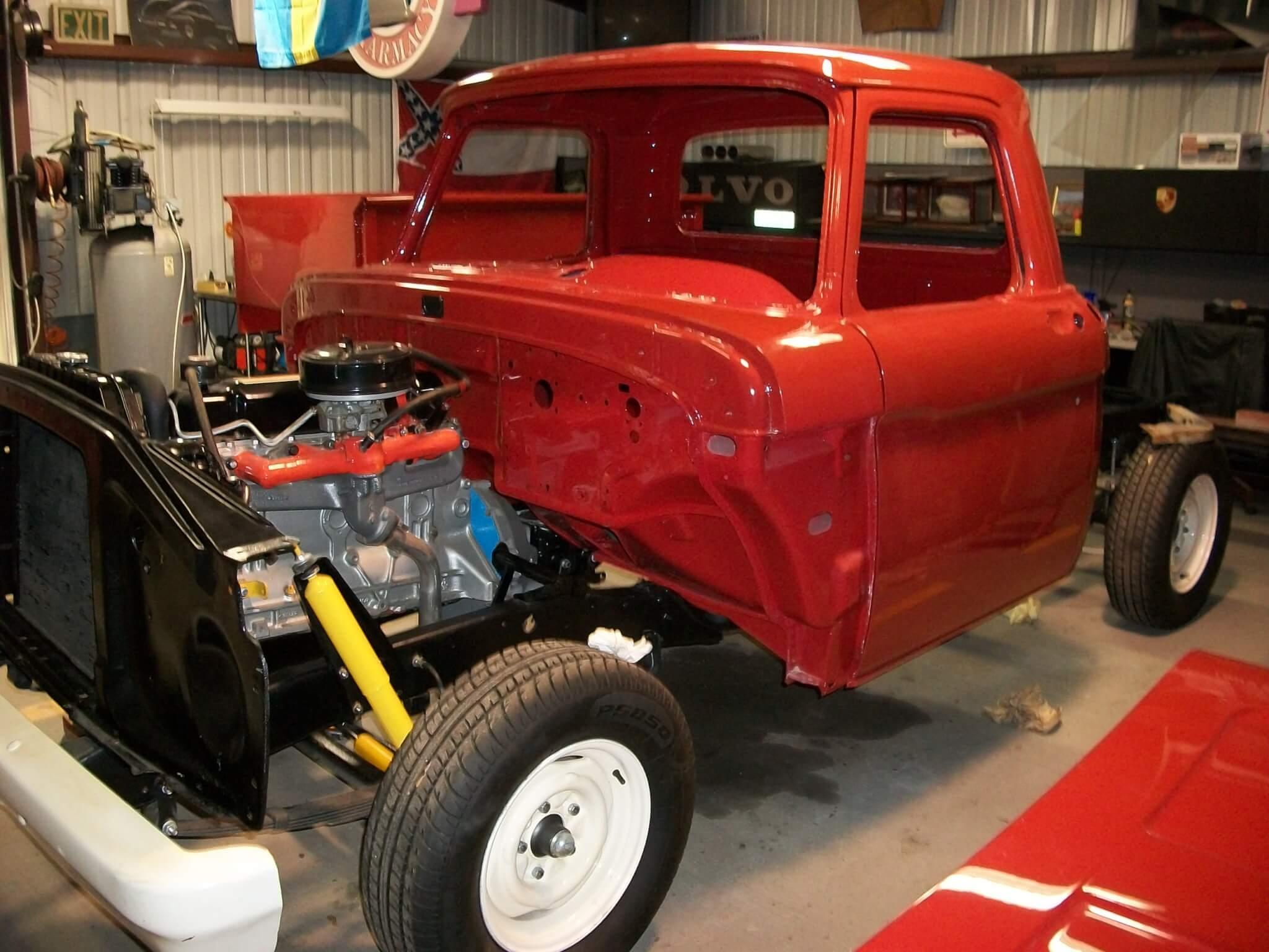 1964 Ford F 100 Danny Ewert Lmc Truck Life Custom Copyright 2019