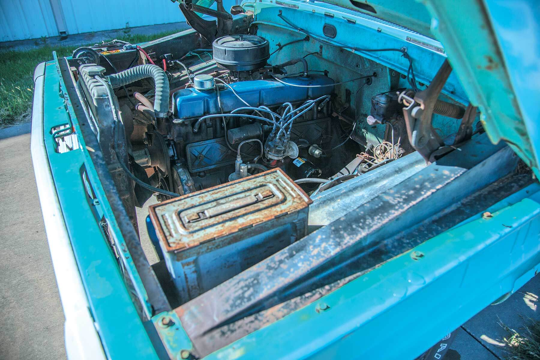 1967 Ford F 100 Douglas Robertson Lmc Truck Life F100 Engine