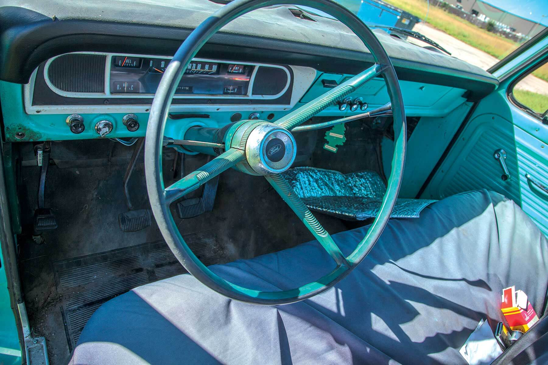 1967 Ford F100 Steering Wheel 1955 Truck Wheels