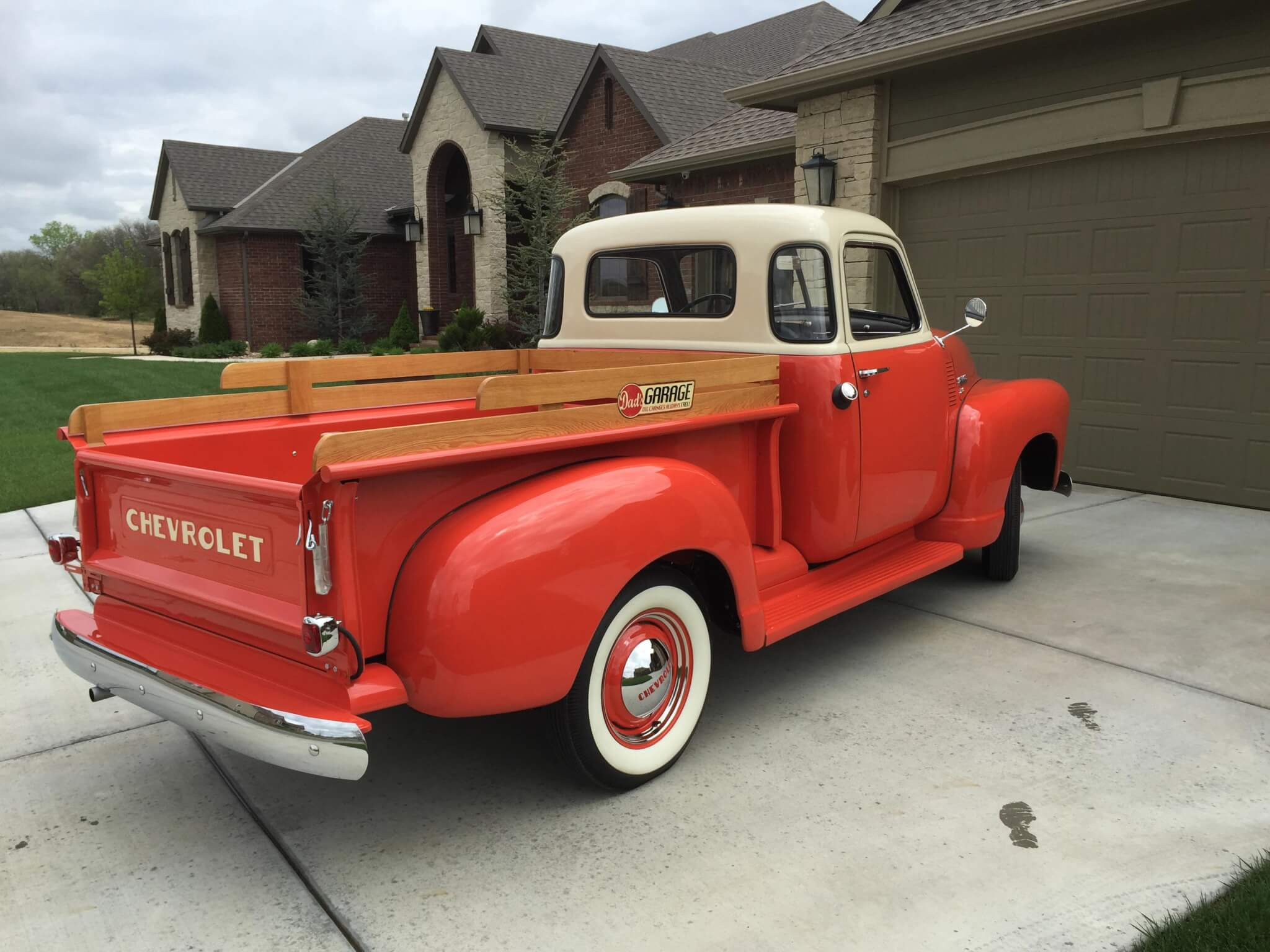 1949 Chevy 3100 Tim Thelen Lmc Truck Life Dash