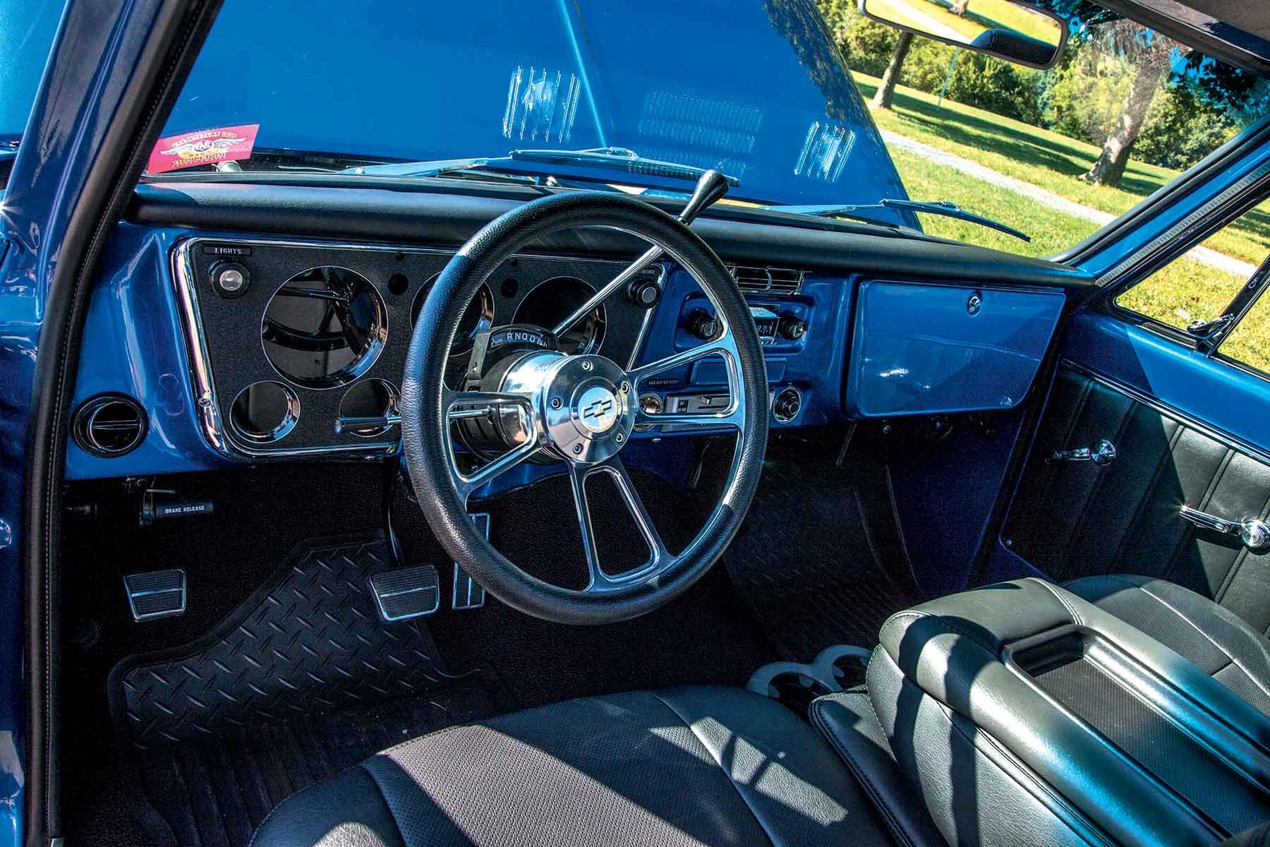 1968 chevy pickup interior