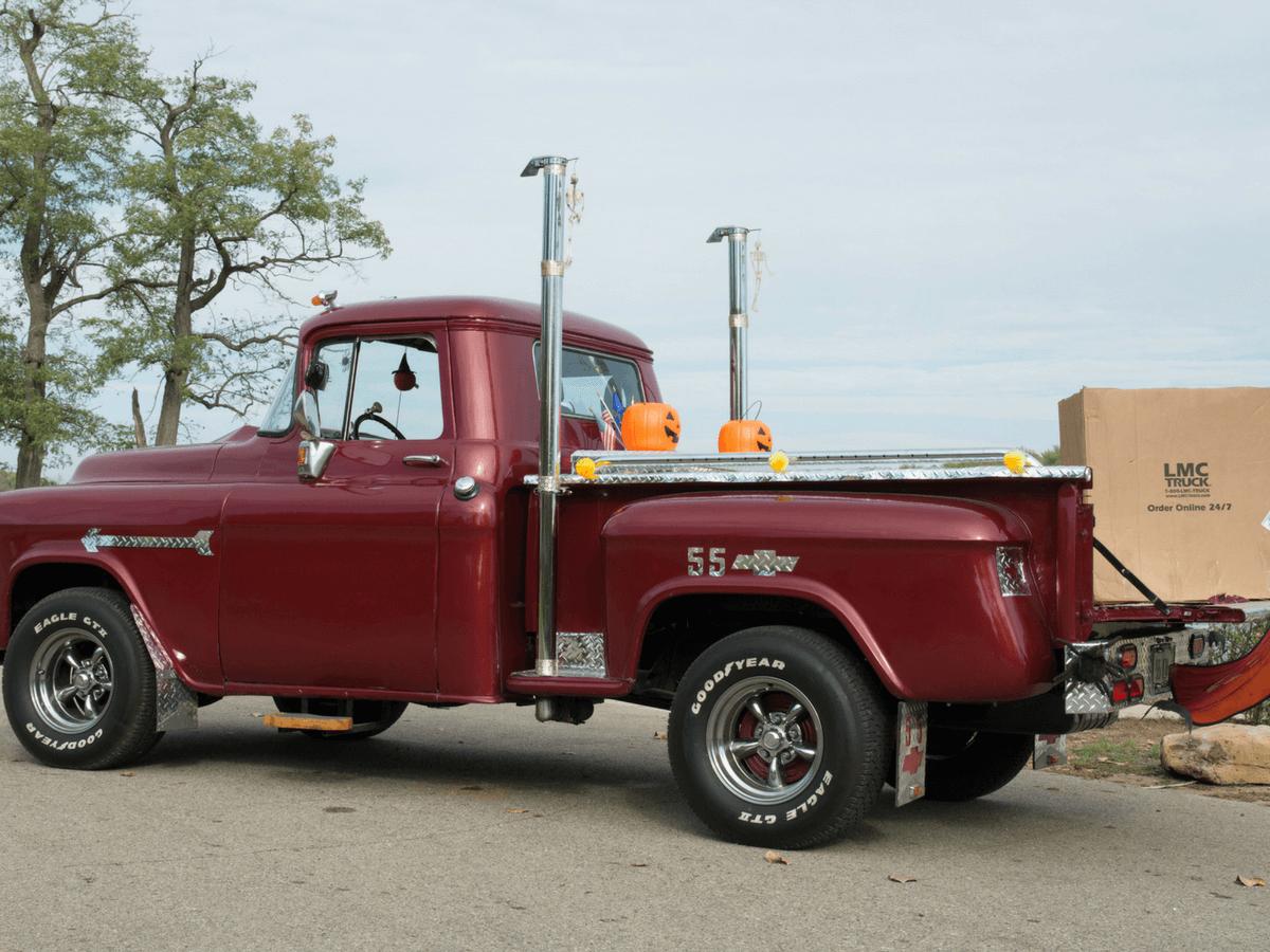Truck chevy 1955 truck : 1955 Chevy 3100 - Eddie Harker - LMC Truck Life