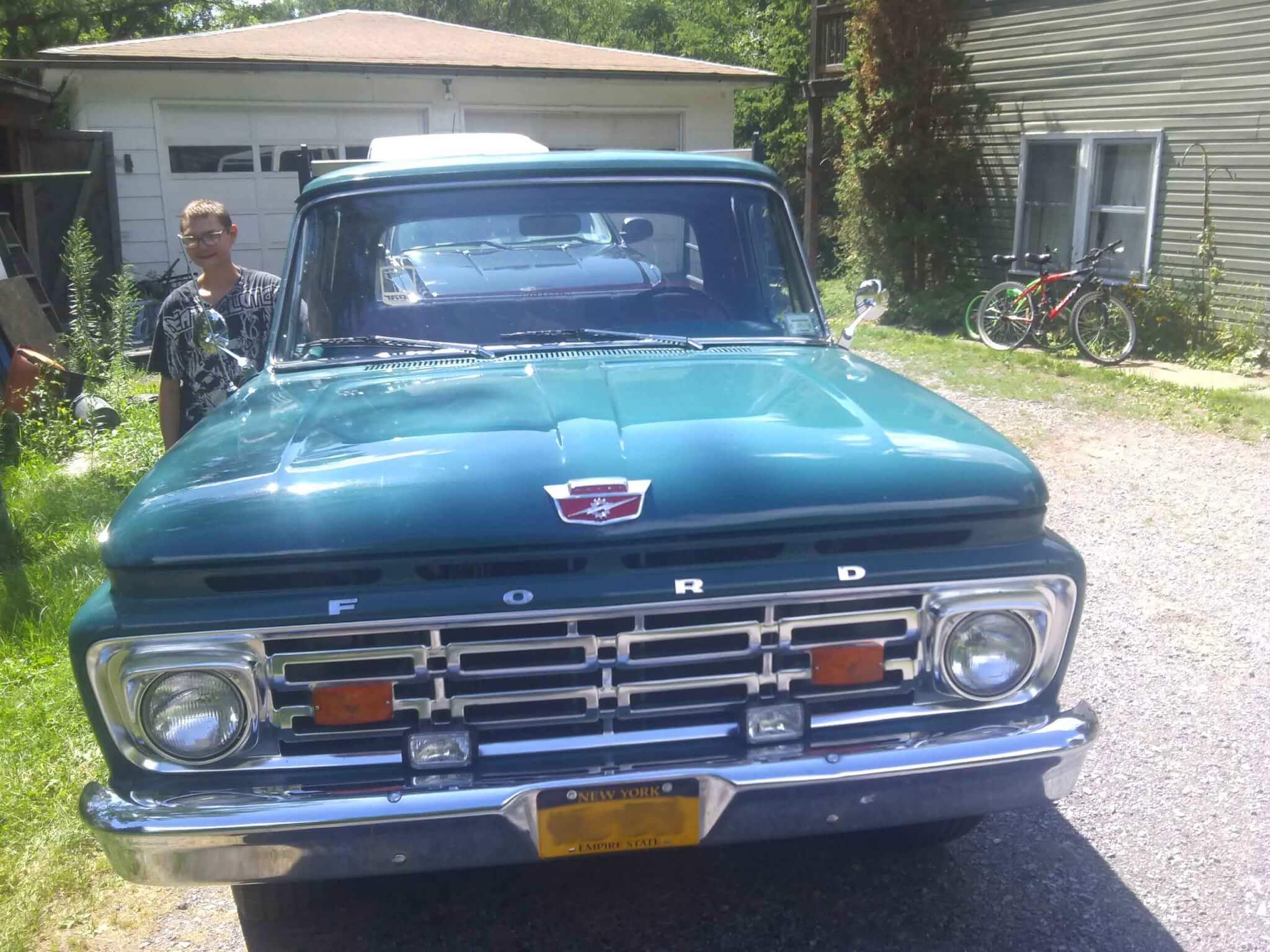 1964 Ford F100 Damien W Lmc Truck Life Pickup