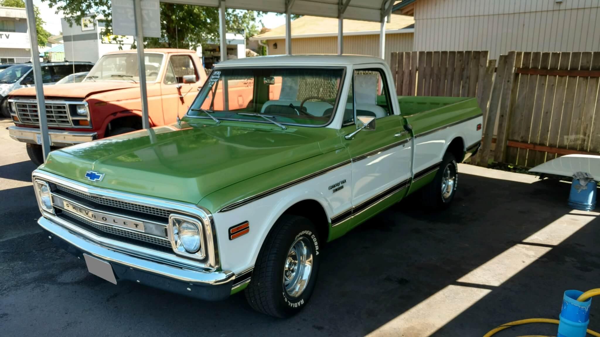 1970 Chevy Pickup >> 1970 Chevy C10 Bob D Lmc Truck Life