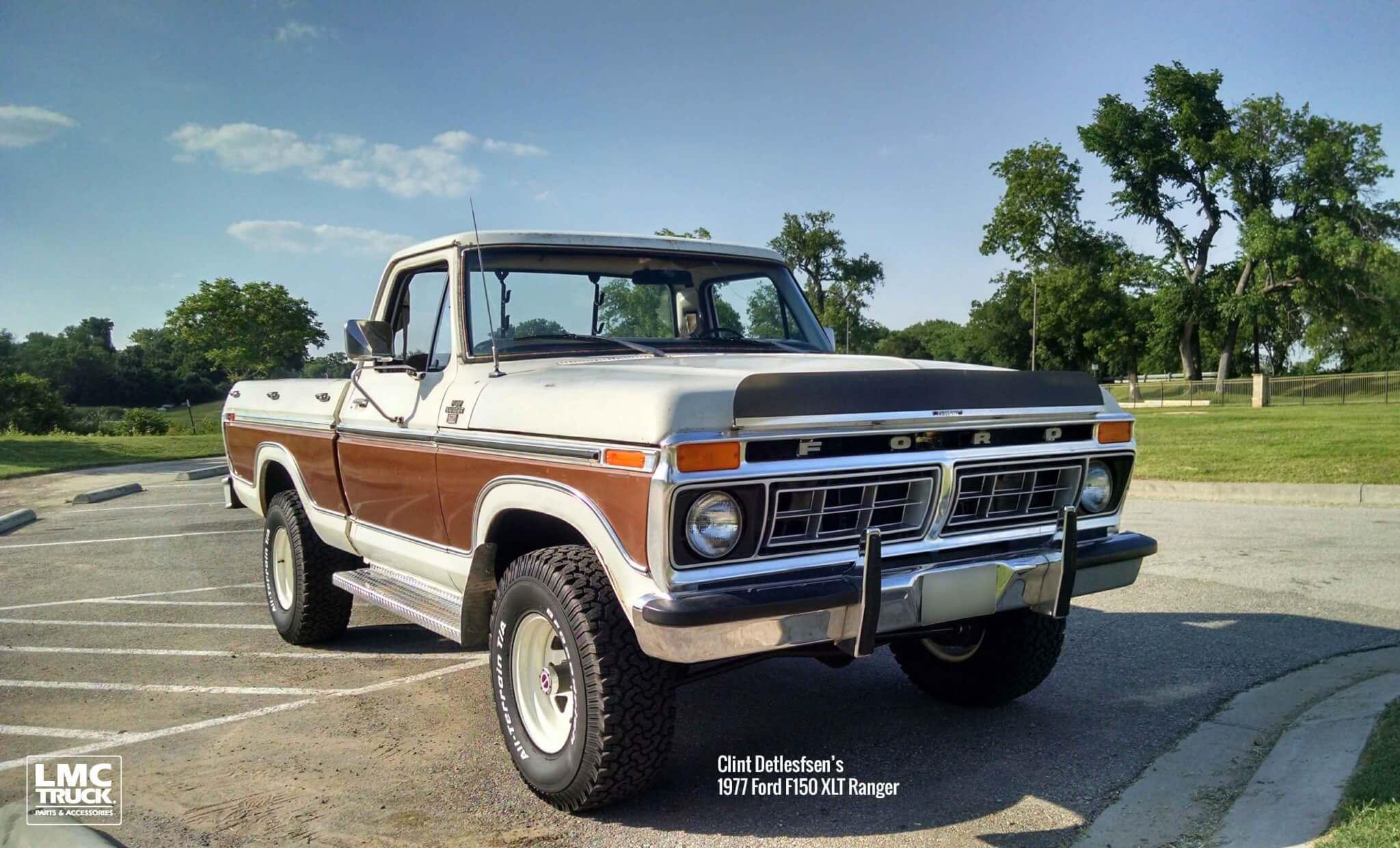 1977 Ford F150 XLT Ranger-Clint D.