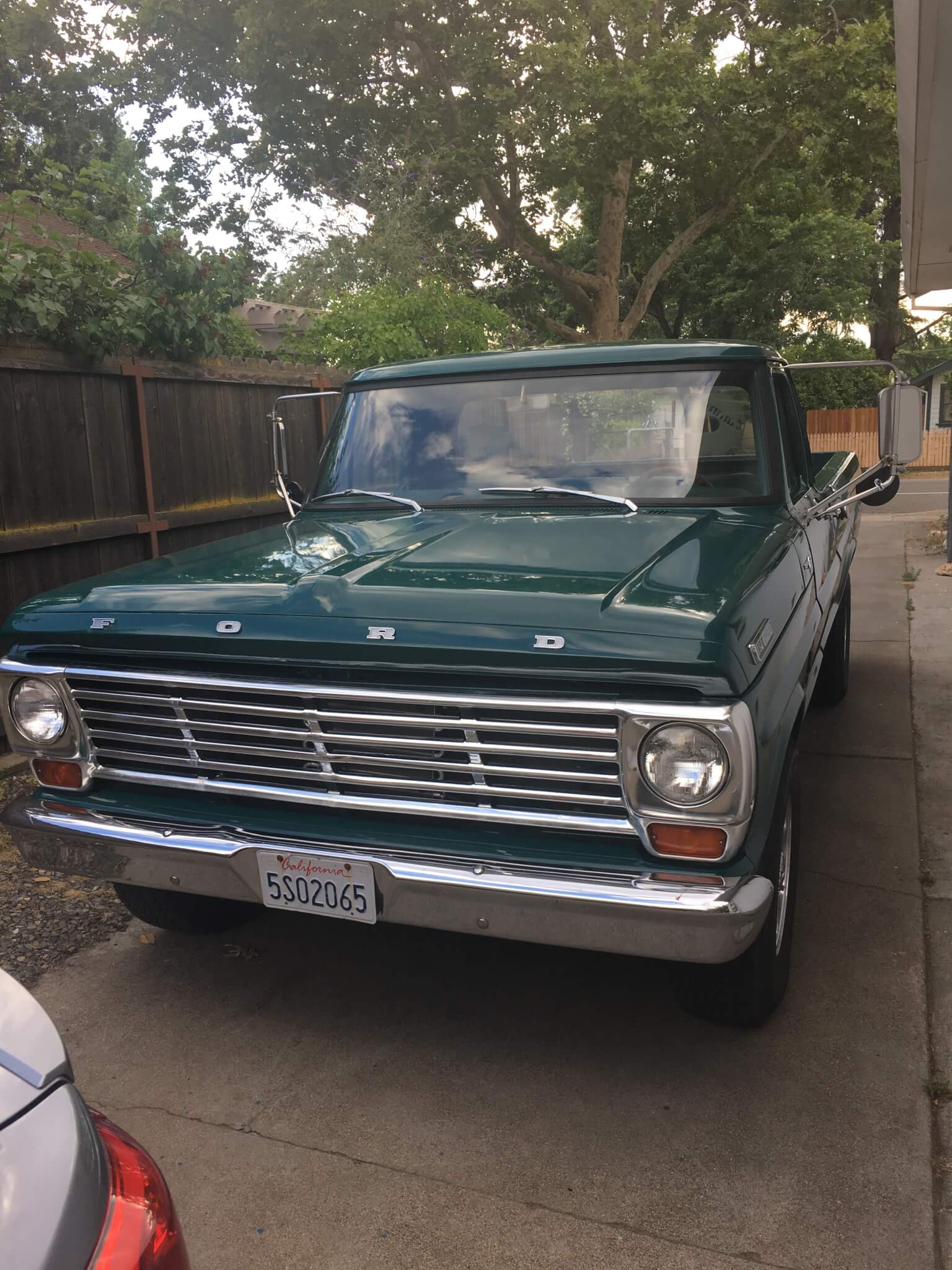 1967 ford f250 parts