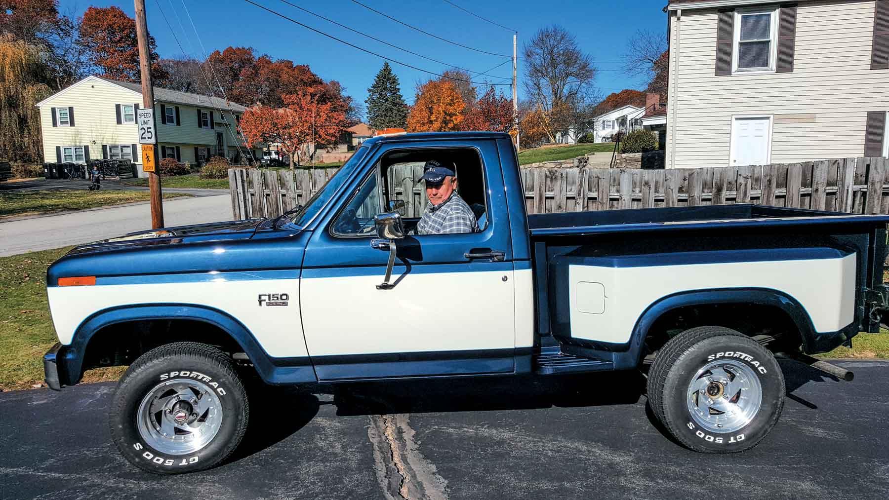 1983 ford f150 richard k lmc truck life