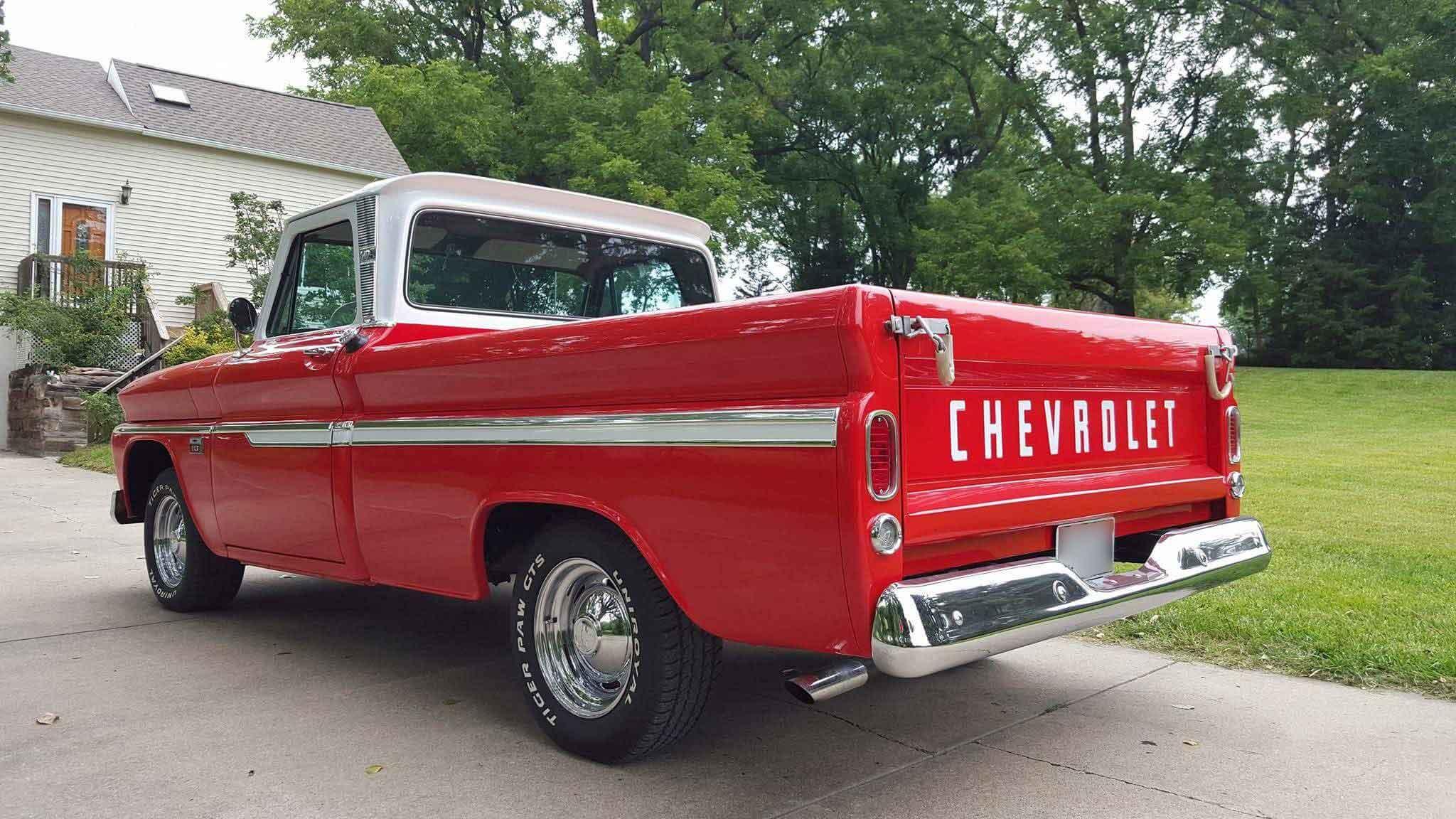 1966 Chevy C10 Truck Custom Tony Life 2048x1152