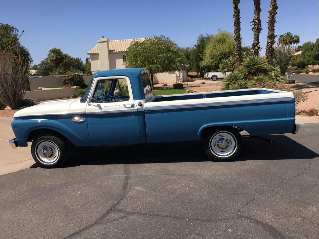 1966 Ford F100 - Curtis B  - LMC Truck Life