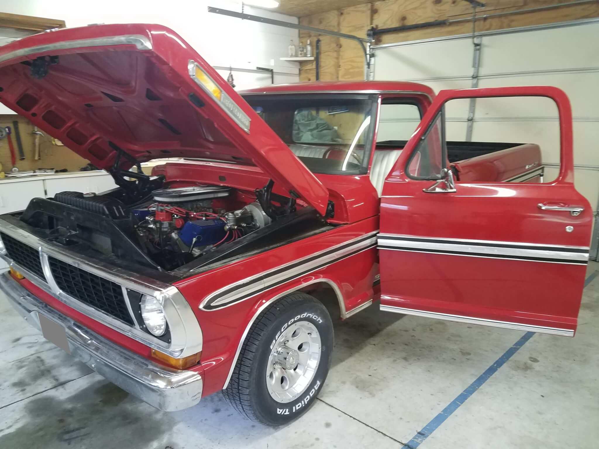 1970 Ford F 100 Ranger Chad R Lmc Truck Life F100 Rs